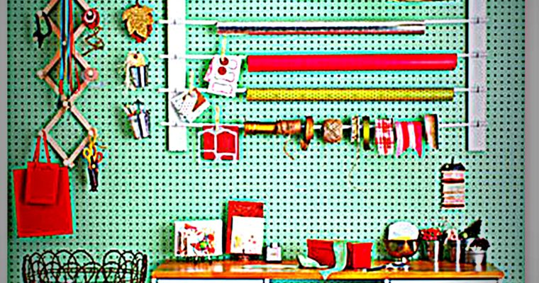 12 Ways to Organize Your Wrapping Paper