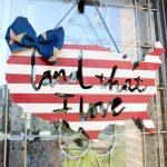Patriotic Door Hanger