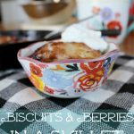 Biscuits & Berries In A Skillet