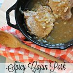 Spicy Cajun Pork with Gravy