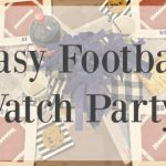 DIY Football Watch Party