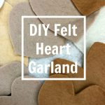 DIY Felt Heart Garland