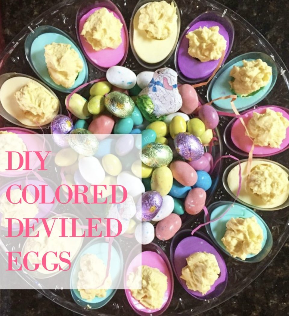 Do you love deviled eggs as much as I do? I can eat 6 or 12 or 18 or in one sitting. It's pretty bad. Don't laugh at me okay? They are my favorite party food every time of year but since at Easter time, a lot of us seem to have an over abundance of boiled eggs, this .