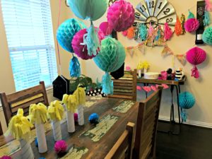 Need Quick & Cheap Birthday Party Decor?! Make These DIY Oversized Faux Birthday Candles with Things You Probably Have at Home!