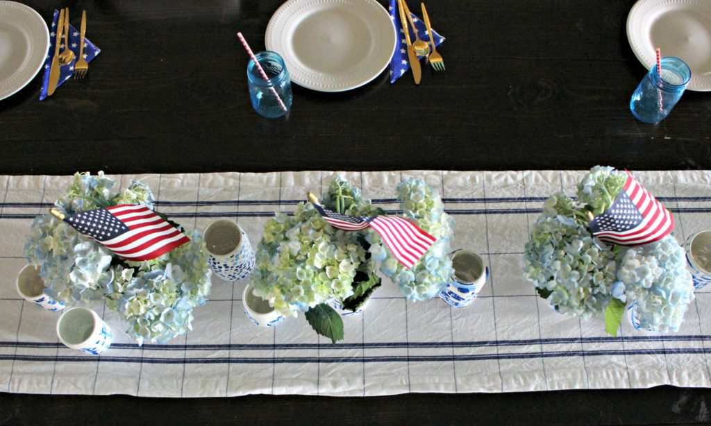 Red, White & Blue Patriotic Home Tour- Decor Ideas for the Fourth of July!