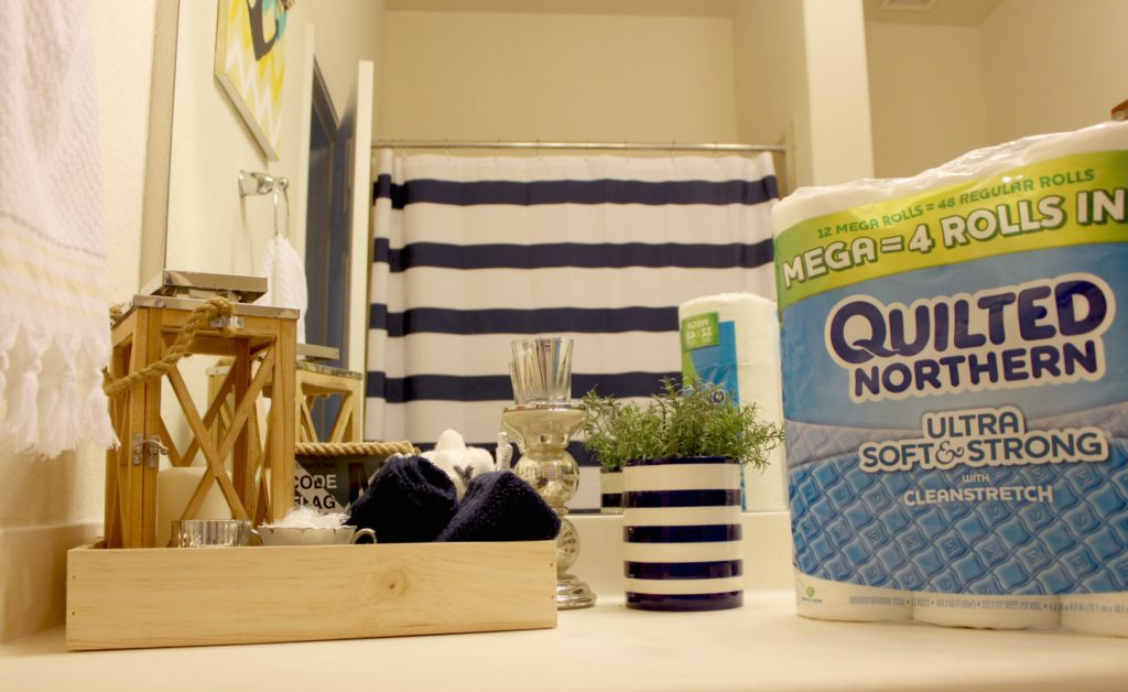 5 Ways to Refresh Your Bathroom for Summer Guests! #Ad #MegaSummerRefresh