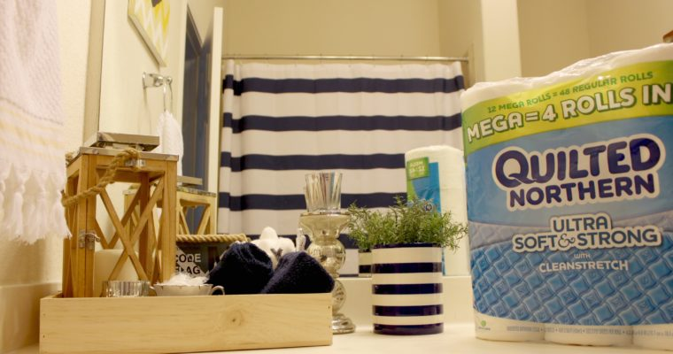 5 Way to Refresh Your Bathroom for Summer Guests!