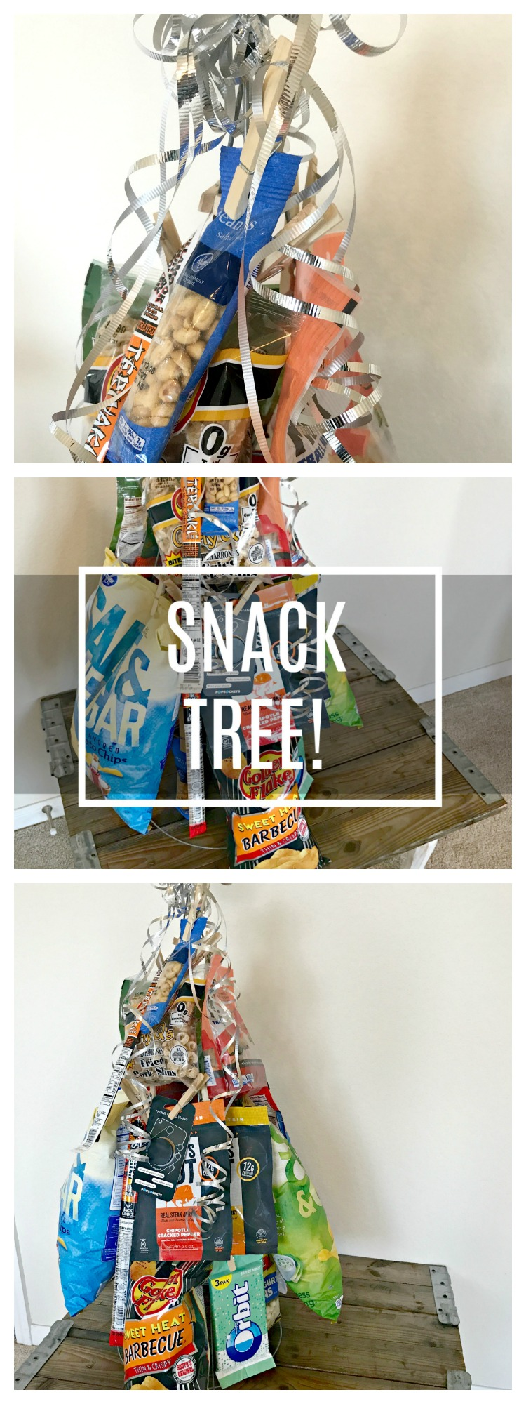 Need a gift idea for the man in your life? Look no further than the SNACK TREE! Make it for Father's Day NOW!!