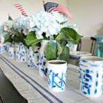 Blue & White Chinoiserie Painted Mason Jars- Ginger Jars!