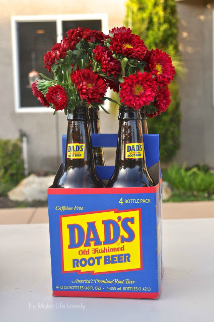 10 Swanky Father's Day Tables- Don't forget about decorating for Dad! He deserves a personalized tablescape too & these manly ideas are sure to impress!