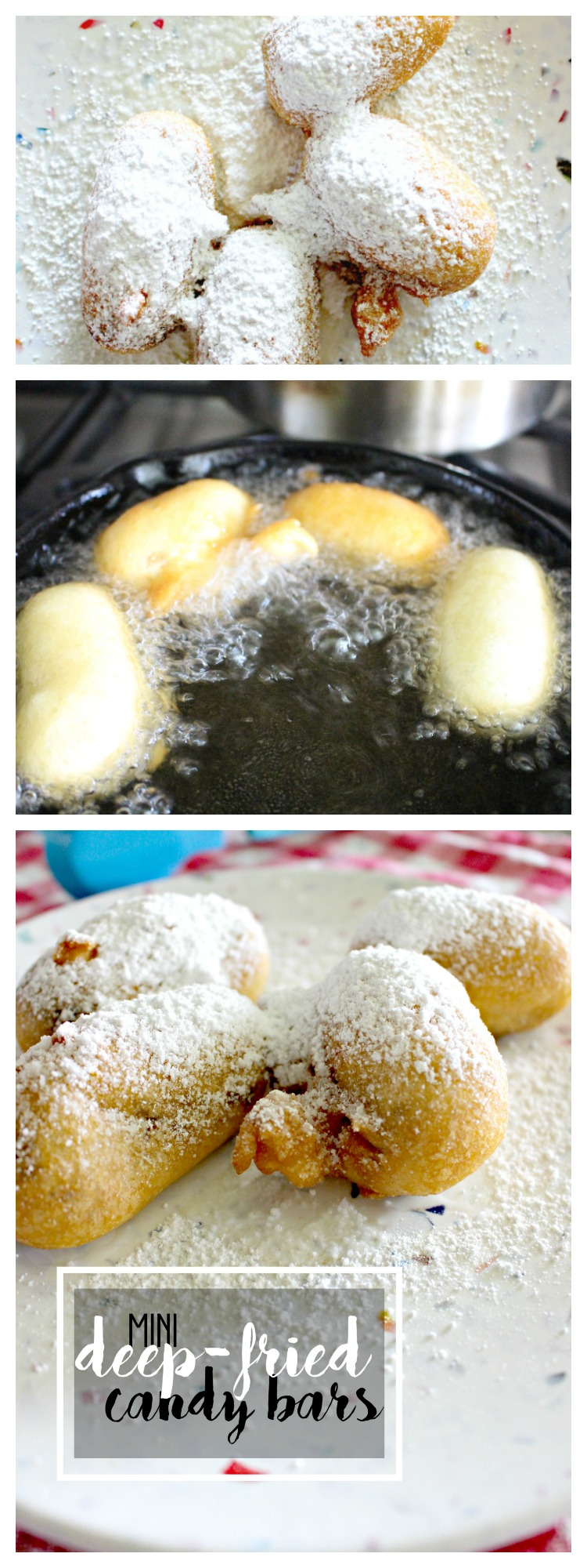 Deep-Fried Mini Candy Bars at Home! It Only Takes 3 Ingredients!