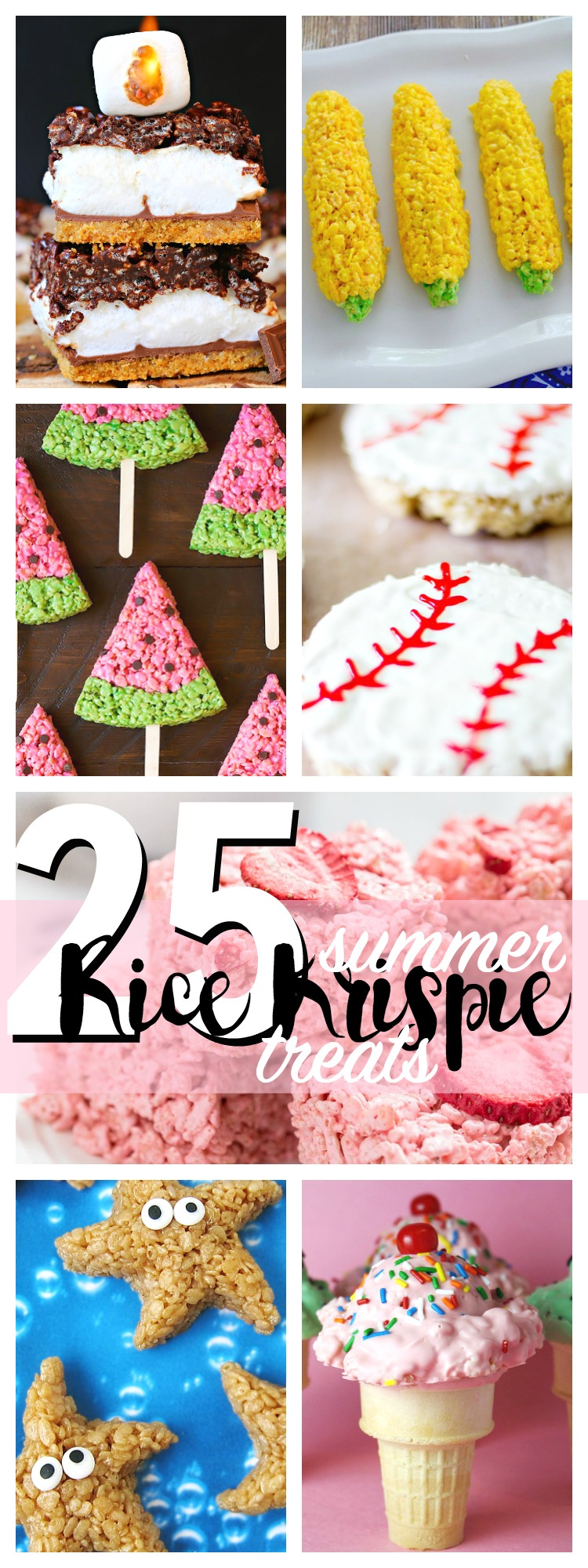 25 Rice Krispie Treats to Make for an Easy Summer Dessert!