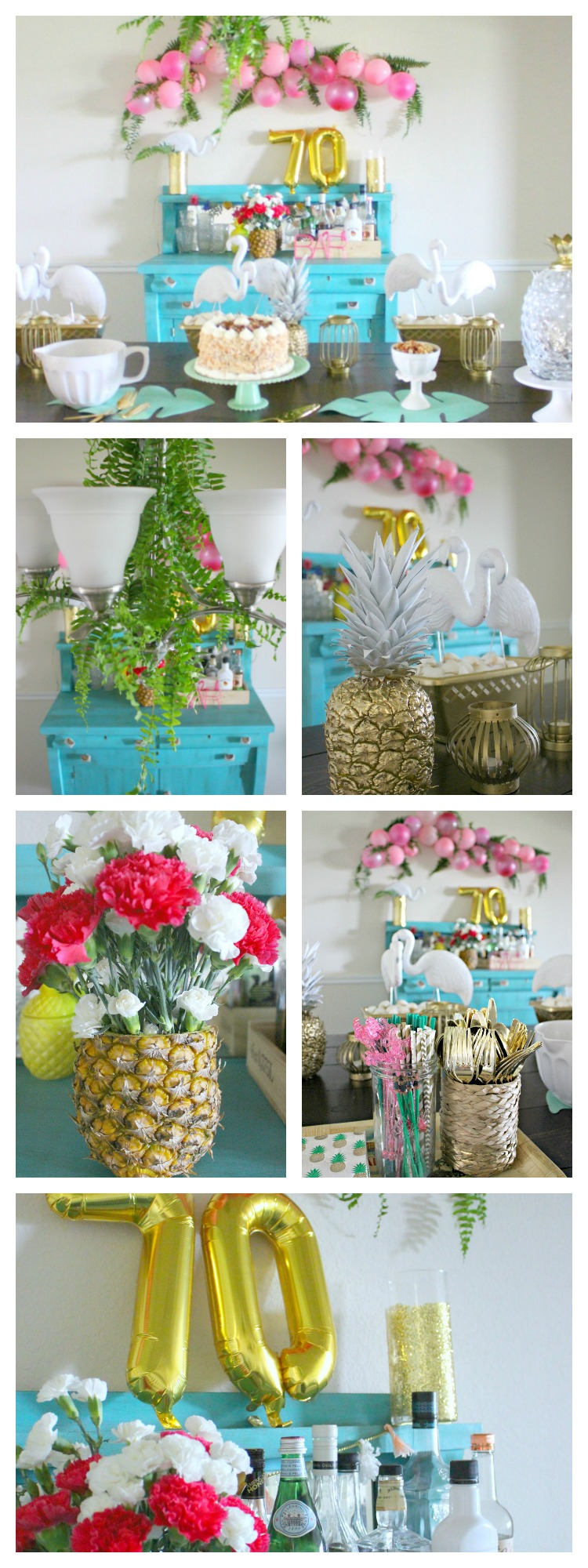 DIY Tropical Party Decor & Ideas