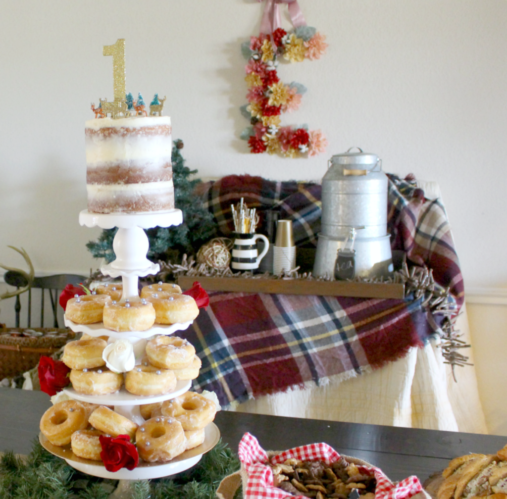 A Woodland ONE-derland!! Decor & Food Ideas for a Woodland themed Party or Shower!