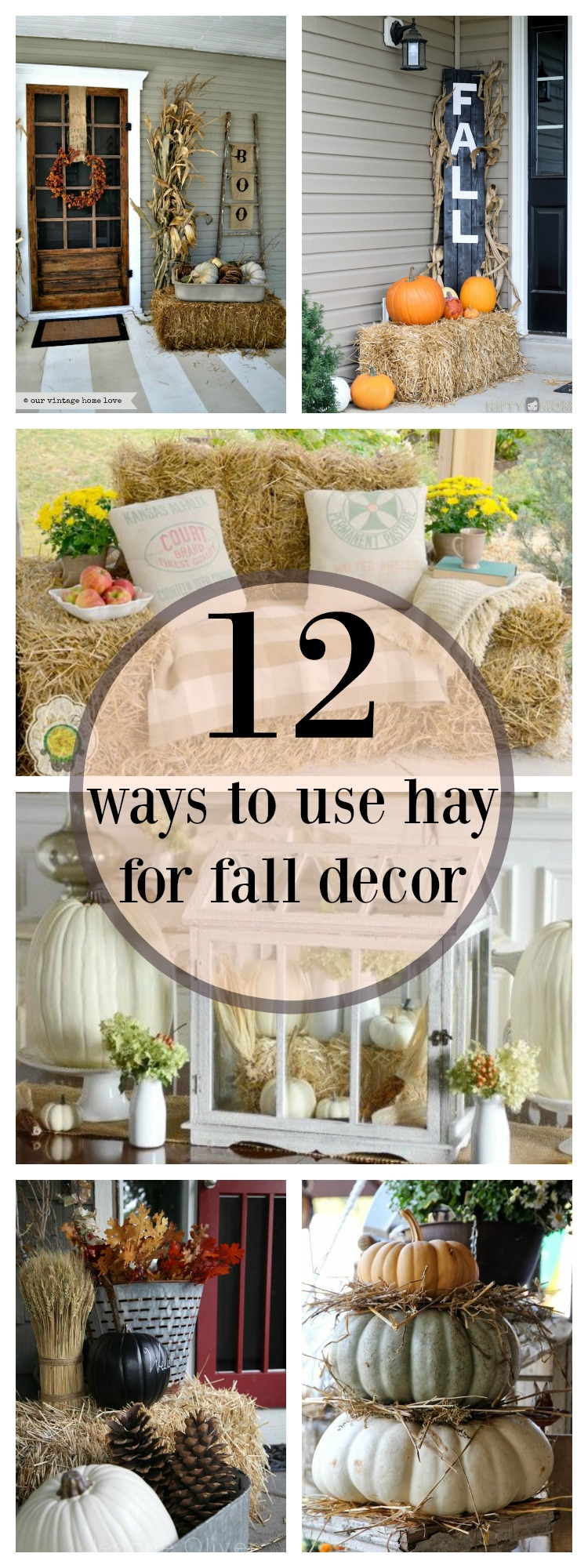 12 Ways to Use Hay in Your Fall Decor This Year!