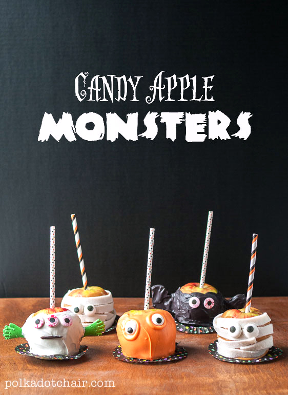 25 Caramel Apple Recipes to Make for Halloween!!!