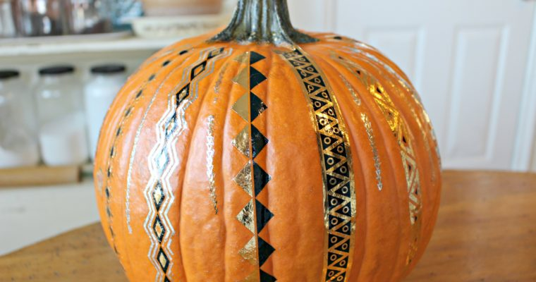 Decorating Pumpkins with Tattoos!