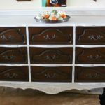 Two-Tone Dresser Makeover & How To- Paint with Chalk Paint