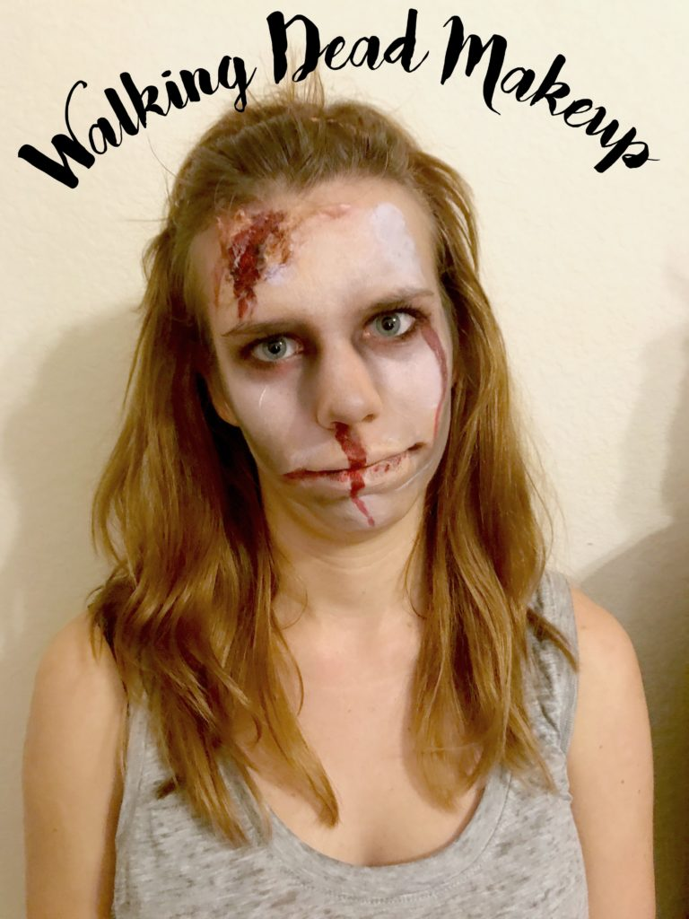 Walking Dead Make Up Tutorial! 5 Halloween Make Up Tutorials! Will you try the Zombie, Cat, Unicorn, Skeleton or Deer?
