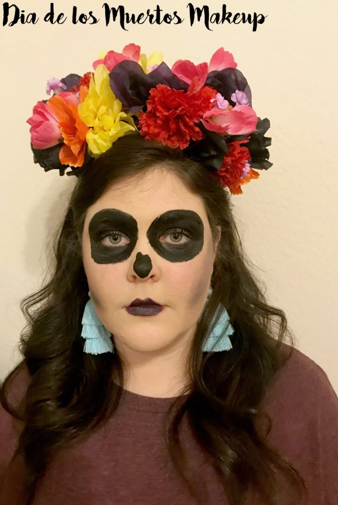 How to Make a Floral headband for Dia de los Muertos or your Skeleton Halloween Costume!
