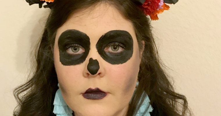 How to Make your own Flower Headband for Dia de los Muertos