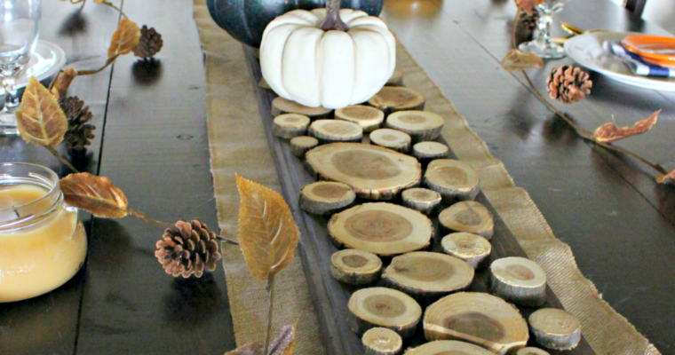 DIY Fall & Christmas Decor with Raw Wood Slices!