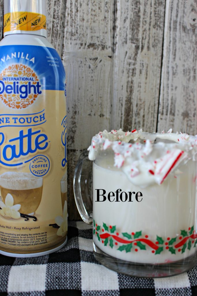 Homemade& Frothy- White Hot Chocolate is the Perfect Treat for the Holiday Season! #LatteMadeEasy #AD