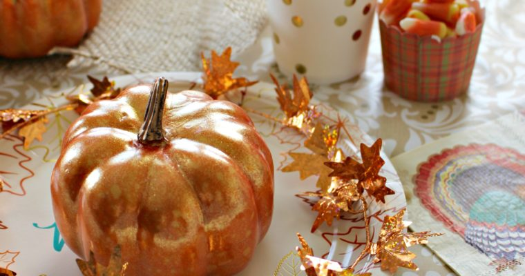 Thanksgiving Tablescape – On a Budget!