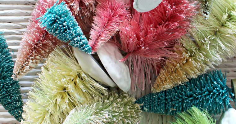 How to Bleach & Dye Bottle Brush Trees in Any Color!