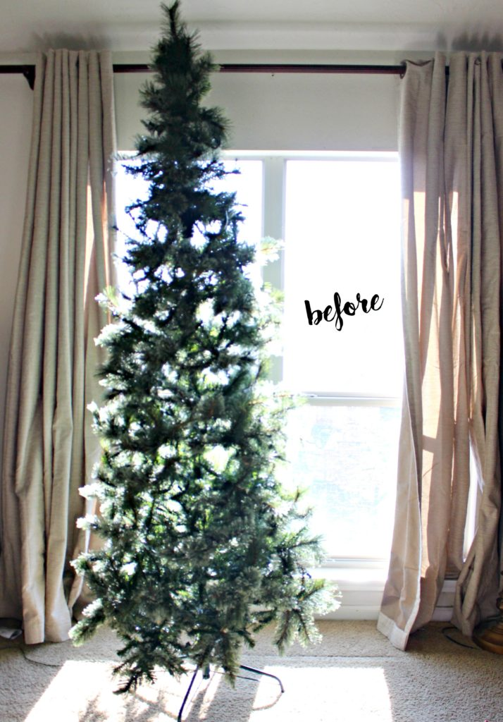 How to Decorate your Christmas tree for Under $50! #doingthe99 #99yourholiday #ad