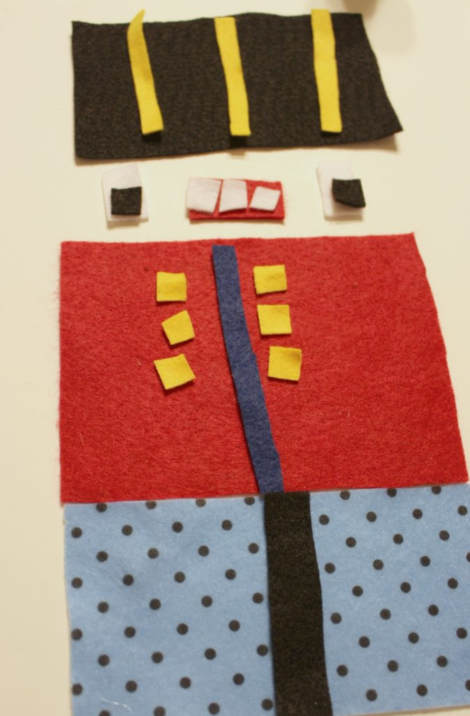 Bring the best gift in this nutcracker tote! Make your own with felt! #HobbyLobbyFinds #HobbyLobbyMade #ad