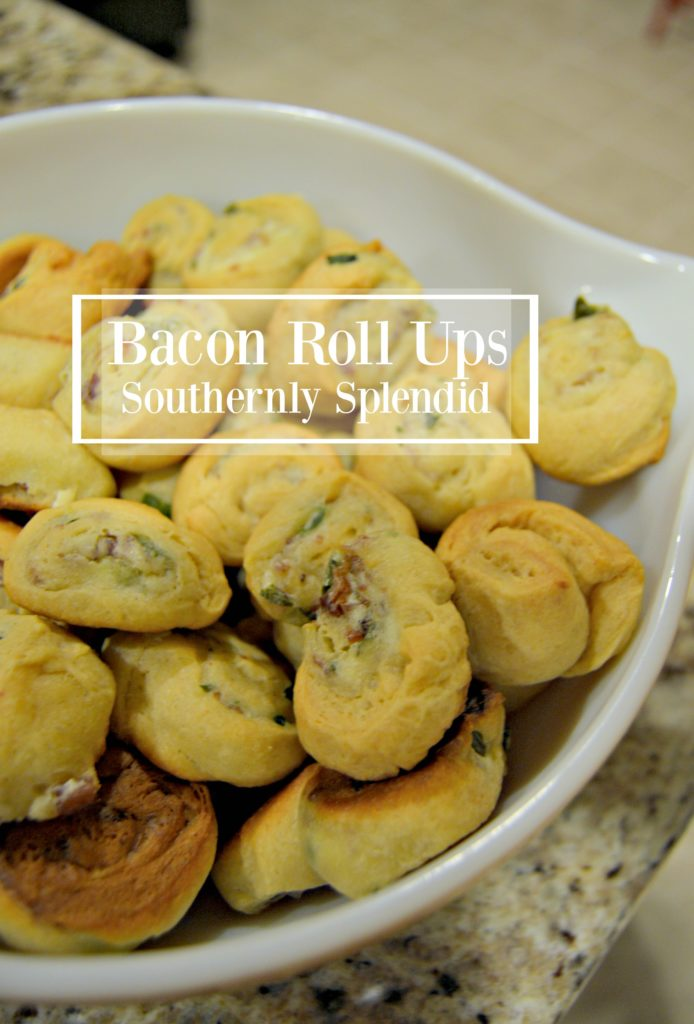 Bacon Roll Ups- The Only Appetizer Recipe You'll Ever Need! Make a batch or 2 for the holidays!