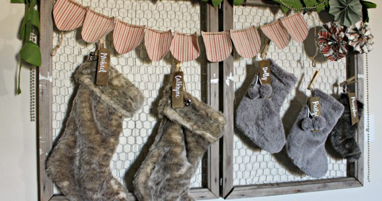 DIY Wood Stocking Tags (The EASY Way!)