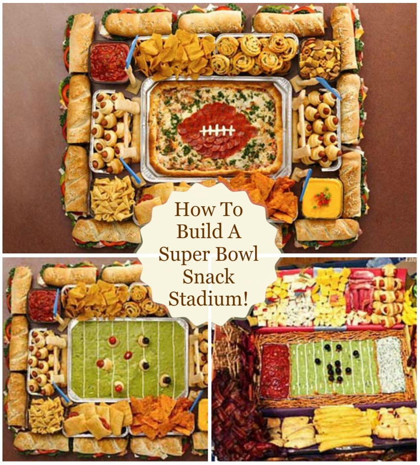 Super Bowl Snack Stadium Hall Of Fame