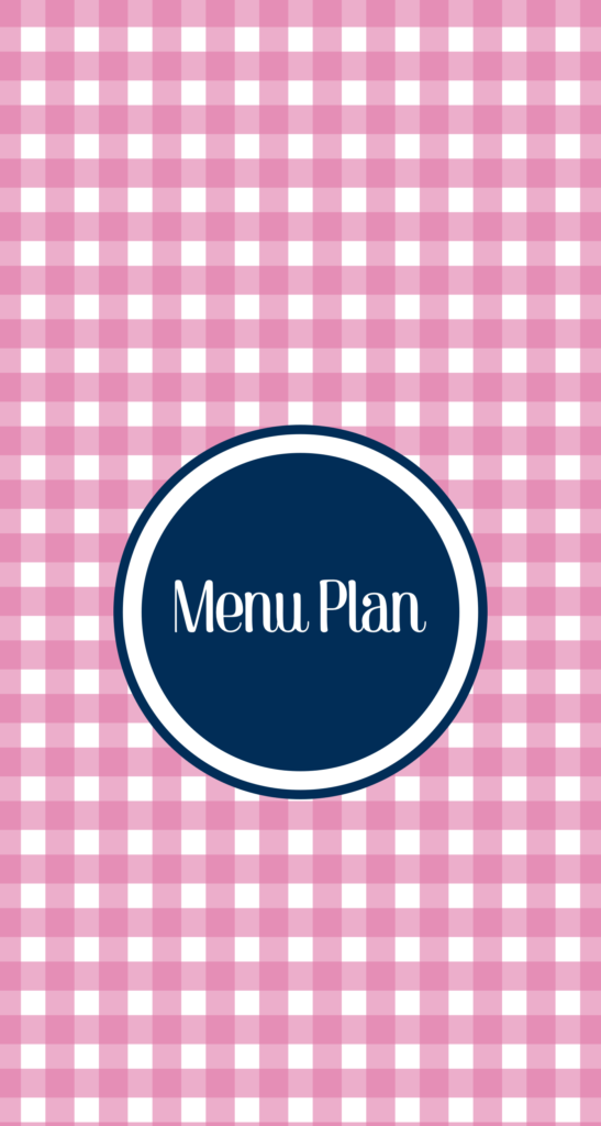 Weekly Menu Plan with Recipes & Tips! #MealPlanning #WeeklyMenu