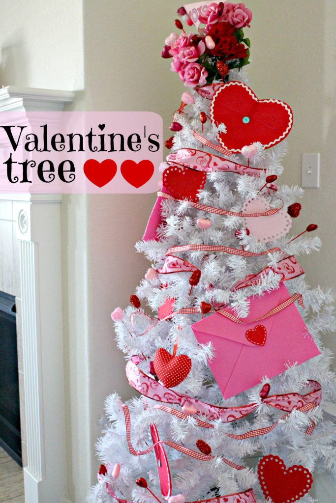 Decorate a Valentine's Day Tree for Under $20! #ValentinesDay