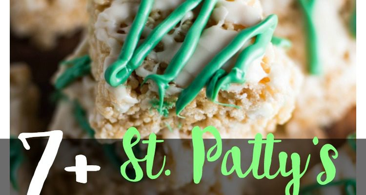 7 Lucky Rice Kripsy Treats for St. Patrick's Day!