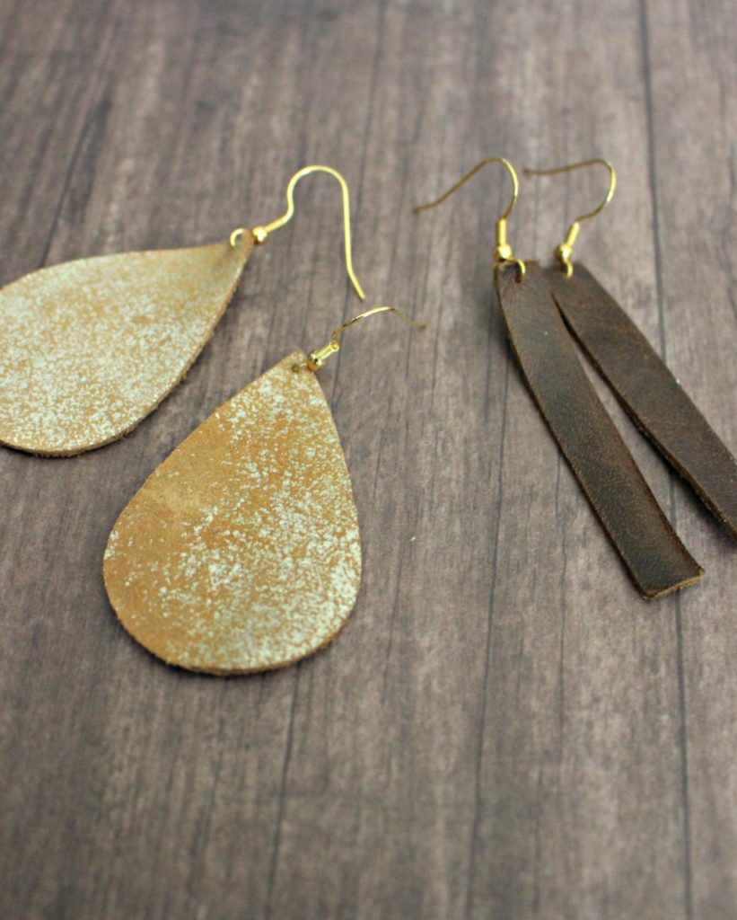 Image result for leather diy earrings