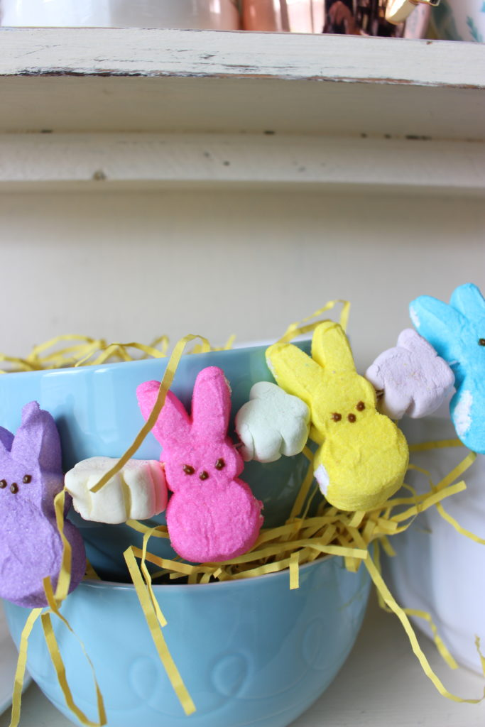 Peep S Marshmallow Garland The Southern Holiday Home