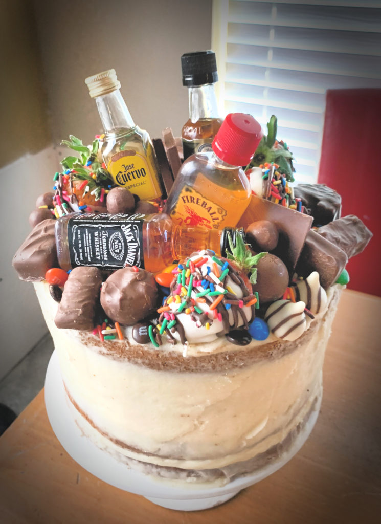 Stupendous Naked Cake 101 The Southern Holiday Home Funny Birthday Cards Online Elaedamsfinfo